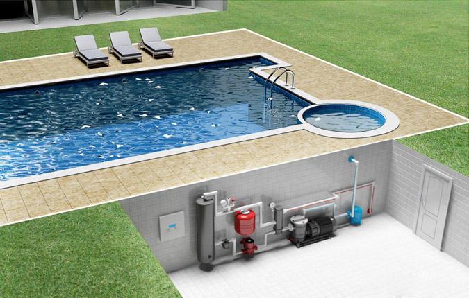 Насосы для бассейнов.